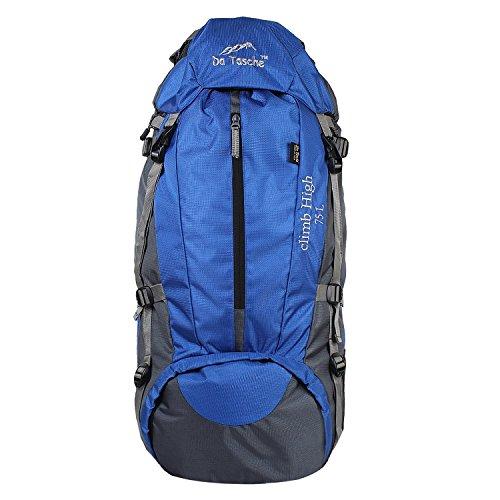 Da Tasche Climb High 75L Royal Blue Rucksack