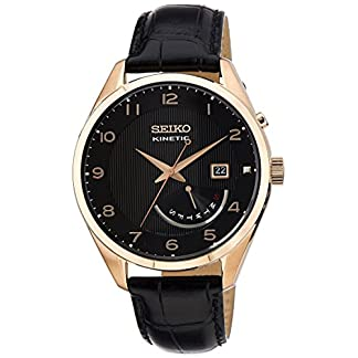 Seiko Dress Analog Black Dial Men's Watch – SRN054P1