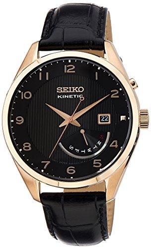 Seiko Dress Analog Black Dial Men's Watch - SRN054P1