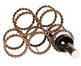 riciclato bicicletta bici parti bottiglia di vino rack/Holder Handmade Upcycled