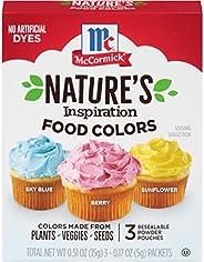 McCormick Colour Nature Food Colours - 3 CT