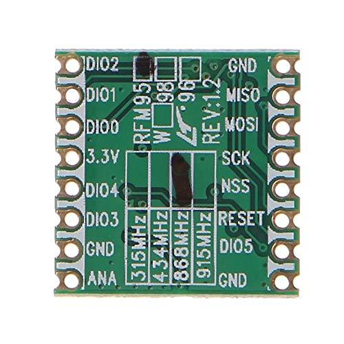 Transceiver Modul RFM95W 96W lange Distanz 915mhz 433mhz Elektronische Terminals Praktische Empfängerverbreitung 868MHZ kabelloses langlebiges Zubehör
