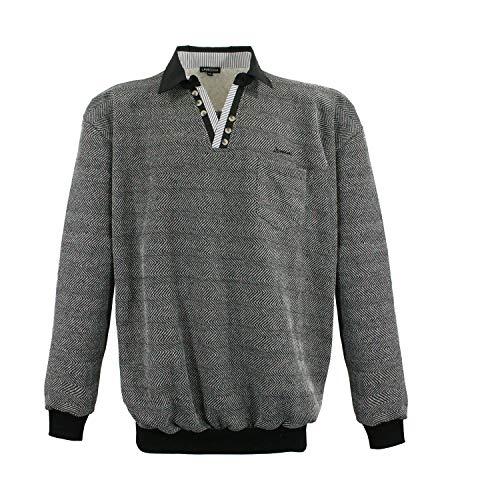 LV 15-208 Black Lavecchia Herrenübergröße Sweatshirt in Gr. 3-8 XL (7XL)