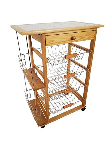 Mueble Gestion Verdulero Frutero 57x37x82 Oporto 5