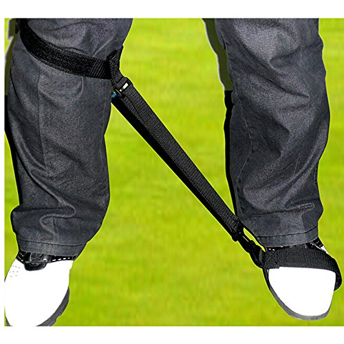 Golf Swing Training Leg Strap Golf Practice Corrector