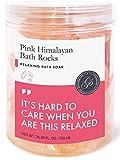 DIE BESTE Rosa Himalaya-Badesalz Für Therapeutisches Soak (Große Kristalle) | 100% Rein | Mineralreich Für Entspannung Und Entgiftung Des Körpers | Natürliche Heilung | Perfekte Strumpf Stuffer
