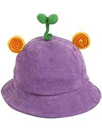 Sombrero Para Niñas Gorra Niño Sombrero De Pescador De Pana De Dibujos Animados Lindo Otoñal
