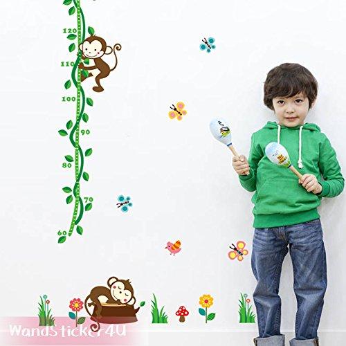 wandsticker4u-vinilos-decorativos-prova-di-altezza-mono-70-x-190-cm-tatuaggi-per-parete-farfalle-ucc