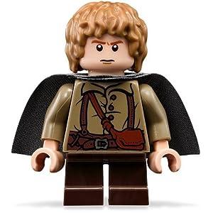 LEGO El Señor De Los Anillos: Samwise Gamgee Minifigura Con Gris Capa 7