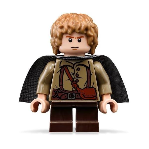 LEGO El Señor De Los Anillos: Samwise Gamgee Minifigura Con Gris Capa 1