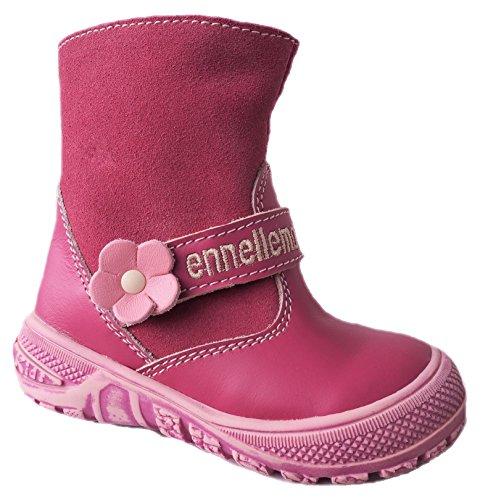 ennellemoo®  Made in EU , Coupe fermées bébé fille rose bonbon