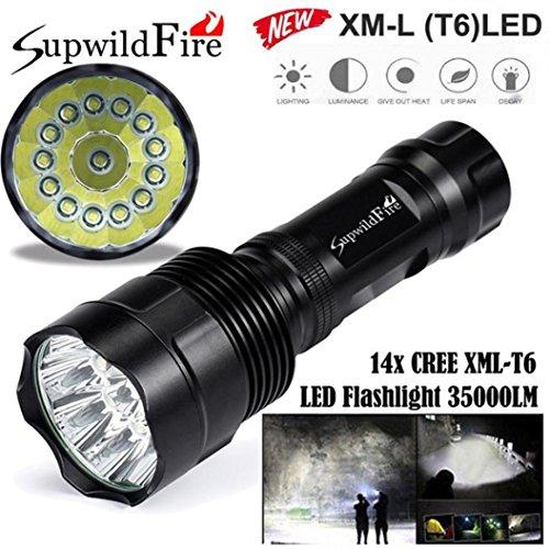 Super helle 35000Lm 14x XM-L T6 LED 5-Mode 18650 Taschenlampe Lampe Licht Lampe