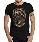 GASOLINE BANDIT T-Shirt original Biker Racer Rockabilly Hot-Rod Design: Rebel Pride XXL