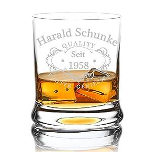 Leonardo Whiskyglas mit personifizierter Gravur