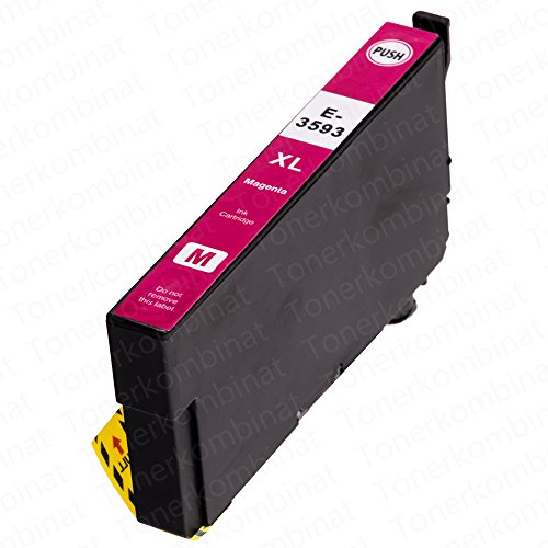 1 EasyInk Druckerpatronen kompatibel zu EPSON 35XL T3593 Magenta für Epson Workforce Pro Serie WF 4720 DWF WF 4730 DTWF WF 4735 DTWF WF 4740 DTWF - 1 Ea-toner-patrone