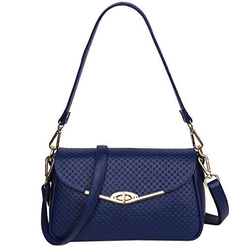 LAIDAYE Damenmode Handtaschen-Schultertasche-Münzenbeutel Kurierbeutel Kleines Quadrat-Paket 1