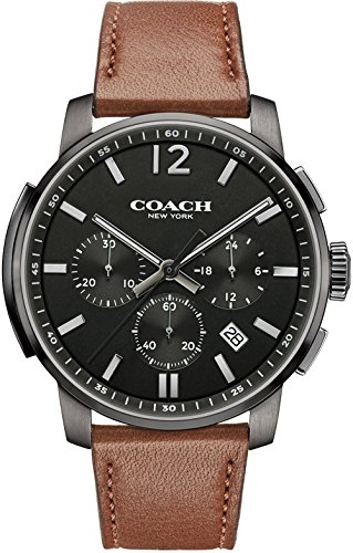 coach-mens-bleecker-chrono-brown-leather-strap-black-dial-14602017