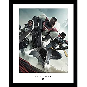 Destiny – 2 Key Art Gerahmtes Poster