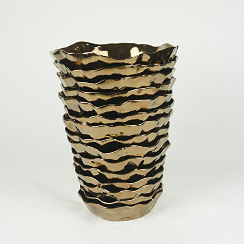Gaolili vaso moderno artigianale in porcellana vaso vintage vaso creativo in ceramica artistica ( dimensioni : b )