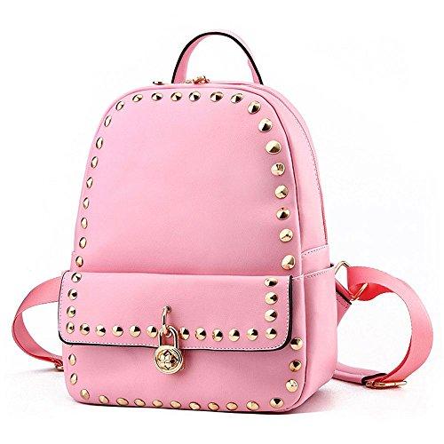 koson-man-zainetto-vintage-con-tracolla-per-rivetti-rosa-rosa-kmukhb273