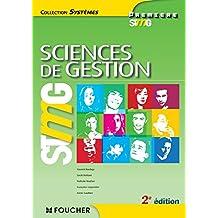Systèmes Sciences de gestion 1re Bac STMG 2e édition