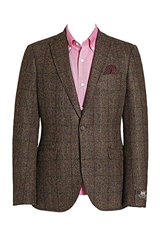 next Herren Schmal geschnittene Signature Donegal Jacke aus britischer Wolle