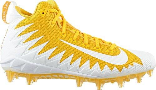 Nike Alpha Menace Pro 871451–711Mid Fußball Cleats-Team gelb/White-Varsity Maize-Size 10
