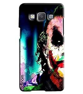 Omnam Mask Men Printed Designer Back Cover Case For Samsung Galaxy A5