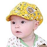Koly Bebé Sombreros y gorras, Sombrero Pesca Para Bebé Niños, Sombrero de béisbol (Amarillo)