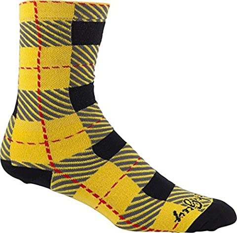 Sockguy Crew Technical Socks - Tartan, Large/X-Large/6-Inch