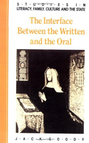 the-interface-between-the-written-and-the-oral