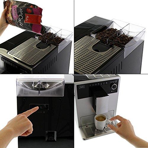 kaffeevollautomat melitta e 950 101 vergleich 2017. Black Bedroom Furniture Sets. Home Design Ideas