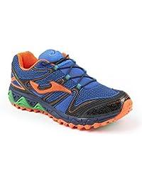Trail Running Zapatillas Joma Sierra Marina Naranja, Sierra, azul y naranja, 46