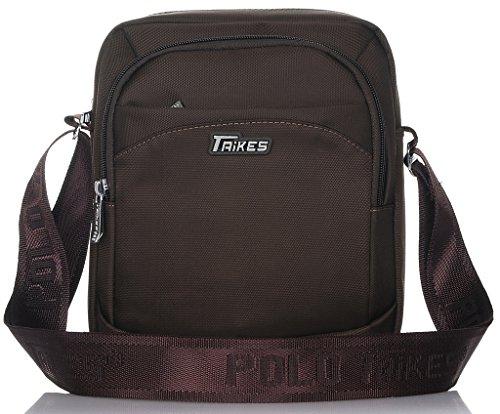 Binlion TAIKES Men's Shoulder Travel Messager Bag Crossbody Ipad Bag Daypack Coffee-1