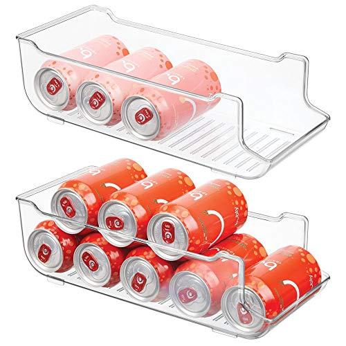 MetroDecor mDesign Juego 2 Cajas almacenaje frigorífico