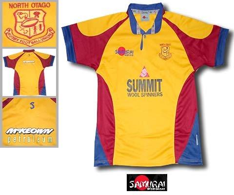 09 Home Rugby (Samurai North Otago home shirt 2008-09)