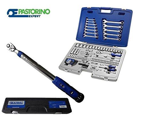 Preisvergleich Produktbild 'Drehmomentschlüssel 20-100Nm 1/2Pastorino Expert + Cass. 764101ut.