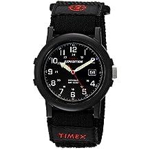 Timex Expedition T40011 - Reloj de cuarzo para hombres, correa de textil, color negro