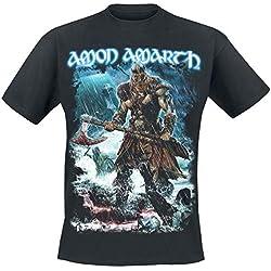 Amon Amarth Jomsviking Camiseta Negro