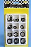 O Ringe Sortiment Dichtringe Set Gummi-Dichtung Silikon Öl Benzin Dichtungsringe