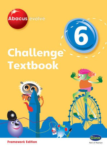 Abacus Evolve Challenge Year 6 Textbook (Abacus Evolve Fwk (2007)Challenge)