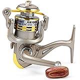 Zorbes GS - 1000 Metal Spool Spinning Fishing Reel Folding Arm 12-Ball Bearing 5.1 : 1