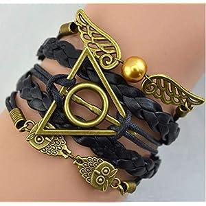 Armband Harry Potter Schmuck Hufflepuff, Ravenclaw,Slytherin, Gryffindor