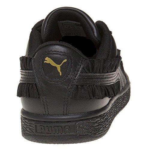 Puma Basket Classic Frill Donna Sneaker Nero Nero