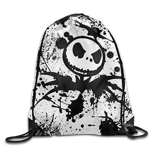 Sporttaschen Turnbeutel Jack Skellington Halloween Drawstring Backpacks/Bags Fashion