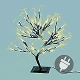 Nipach GmbH 64er LED warm weiß Lichterbaum Lichterkette Energiesparbeleuchtung Weihnachten 45 cm