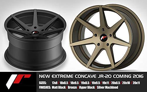Jante 20 JR20 20x10 ET40 5x112/118/120/130/115/114.3/108/110 Noir