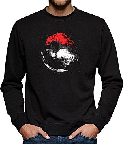 Halloween Kostüme Super Saiyajin (TLM Death Poke Sweatshirt Pullover Herren S)