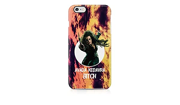 premium selection 4ccfb 82ccc Harry Potter Avada Kedavra Bitch Hard Plastic Phone Case Cover Shell ...
