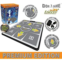 Dance Dance Revolution Energy HD 1 Foam Deluxe Dance Pad for PS/ PS2/ Wii/ Xbox/ PC - DDR Game by Dance Dance Revolution